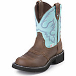 Justin Women's 8 in. Waterproof Gypsy Cowgirl Collection Boot, Bay Apache Brown