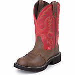 Justin Ladies' 11 in. Waterproof Gypsy Boot, Bay Apache Brown