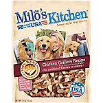 Milo's Kitchen Chicken Grillers Chicken Recipe with Natural Smoke Flavor Dog Treats, 15 oz.