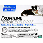 Frontline® Tritak™ for Dogs 23-44 lb., 3 Month Supply