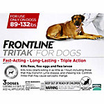 Frontline® Tritak™ for Dogs 89-132 lb., 3 Month Supply