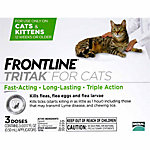 Frontline® Tritak™ for Cats, 3 Month Supply