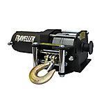 Traveller 12V ATV Electric Winch, 2,500 lb. Capacity, Black, 4-1/2 in. x 11-1/2 in.