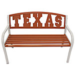 Leigh Country Leigh Country Texas 'Longhorns' Collegiate Metal Bench