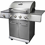Dyna Glo™ 4 Burner LP Gas Grill with Side Burner