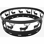 Bond 36 in. Fire Ring with Deer Cutouts