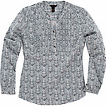 Bit & Bridle™ Ladies' Long-Sleeved Pleated Woven Shirt, Gray Owl Print