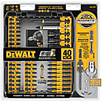 DeWALT® 40 Piece Impact Ready Screwdriver Set
