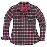 Bit & Bridle™ Ladies' Quilted Shirt Jacket, Raindrum Plaid