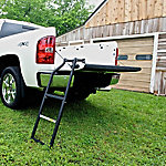 TraXion Steel Tailgate Ladder, 25 in.