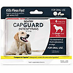 Sentry CapGuard Flea Tablets, For Dogs Over 25 lb., Pack of 6