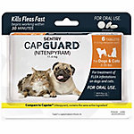 Sentry CapGuard Flea Tablets, For Dogs & Cats Up To 2 to 25 lb. (Dog Set), Pack of 6