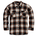 C.E. Schmidt Men's Long Sleeve Brawny Flannel Shirt