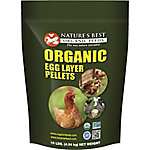 Nature's Best Organic Egg Layer Pellets, 10 lb.