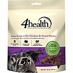 4health™ Wavy Strips Chicken and Sweet Potato Dog Treat, 16 oz.