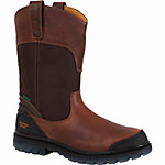 Georgia Boot Men's 11 in. Pull-On Zero Drag Steel Toe Boot, Brown