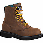 Georgia Boot Boys' Kid's Lacer Boot, Brown