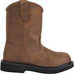 Georgia Boot Boys' Adolescent Pull-On Boot, Brown