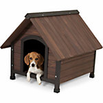 Aspen Pet Ruff Hauz® Peak Roof Dog House, 25 to 50 lb.