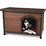 Aspen Pet Ruff Hauz® Offset Entry Dog House, 25 to 50 lb.