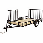 Carry-On Trailer® Wood Floor Side Loading Utility Trailer, 7 ft. x 12 ft., 2,990 GVWR