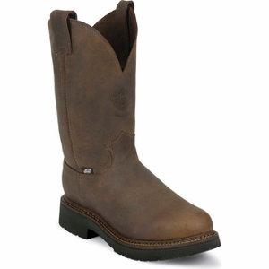 Justin Men S 11 In Steel Toe J Max Boot At Tractor Supply Co
