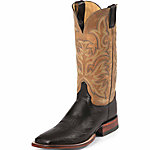 Justin Men's 13 in. AQHA Lifestyle Collection Boot, Black, CA Prop 65 Compliant