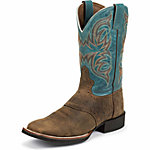 Justin Men's 11 in. Stampede Boot, Distressed Tan, CA Prop 65 Compliant