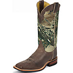 Justin Men's 13 in. Bent Rail Boot, America Chocolate, CA Prop 65 Compliant
