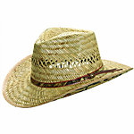 Mossy Oak Men's Outback Hat, Straw
