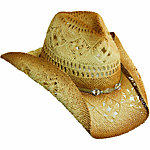 Tropical Trends Ladies' Western Hat with Braided Band