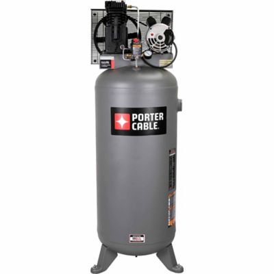 porter cable stationary belt drive air compressor 60 gal at tractor supply co