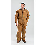 Berne® Men's Duck Quilt-Lined Insulated Coverall, Brown