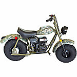 Baja Realtree AP Camo Warrior MB200 Mini Bike