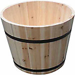 Discover Home Products Wooden Planter, 13 in., Natural