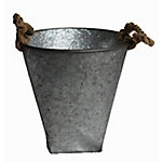 GroundWork® Round Galvanized Planter