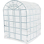 FlowerHouse Pop-Up Classic, Clear White, 4-1/2 ft. x 6 ft. x 6-1/2 ft.