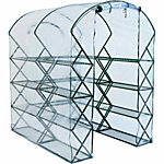 FlowerHouse HarvestHouse Pro Clear Cover, 80 in. x 56 in. x 70 in.