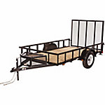 Carry-On Trailer® Wood Floor Utility Trailer, 5-1/2 ft. x 10 ft., 2,990 GVWR
