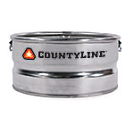 CountyLine® Galvanized Utility Stock Tank, 23 gal.