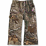 Carhartt® Infant/Toddler Girls' Camo Canvas Pant