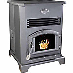 United States Stove Pellet Heater with 140 lb. Hopper, Large
