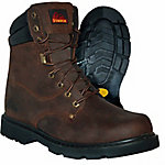 Itasca Men's Force 10 Steel Toe Work Boot, Brown