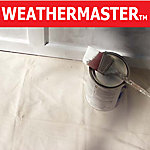 Weathermaster 8 oz. Cotton Duck Tarp, 4 ft. x 15 ft., Natural