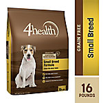 4health Grain Free Small Breed Formula for Adult Dogs, 16 lb.