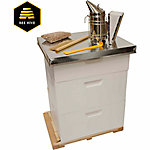 Harvest Lane Honey Beekeeping Beehive Starter Kit, 3 Box with Accessories