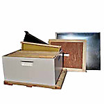 Harvest Lane Honey Beekeeping Beehive Starter Kit, 1 Box without Accessories