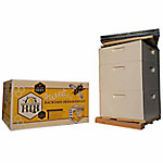Harvest Lane Honey Beekeeping Beehive Starter Kit, 3 Box without Accessories