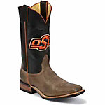 Nocona Boots Men's Oklahoma State Embroidered Color Tops CollegeBoots™
