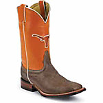 Nocona Boots Men's University of Texas Embroidered Color Tops CollegeBoots™